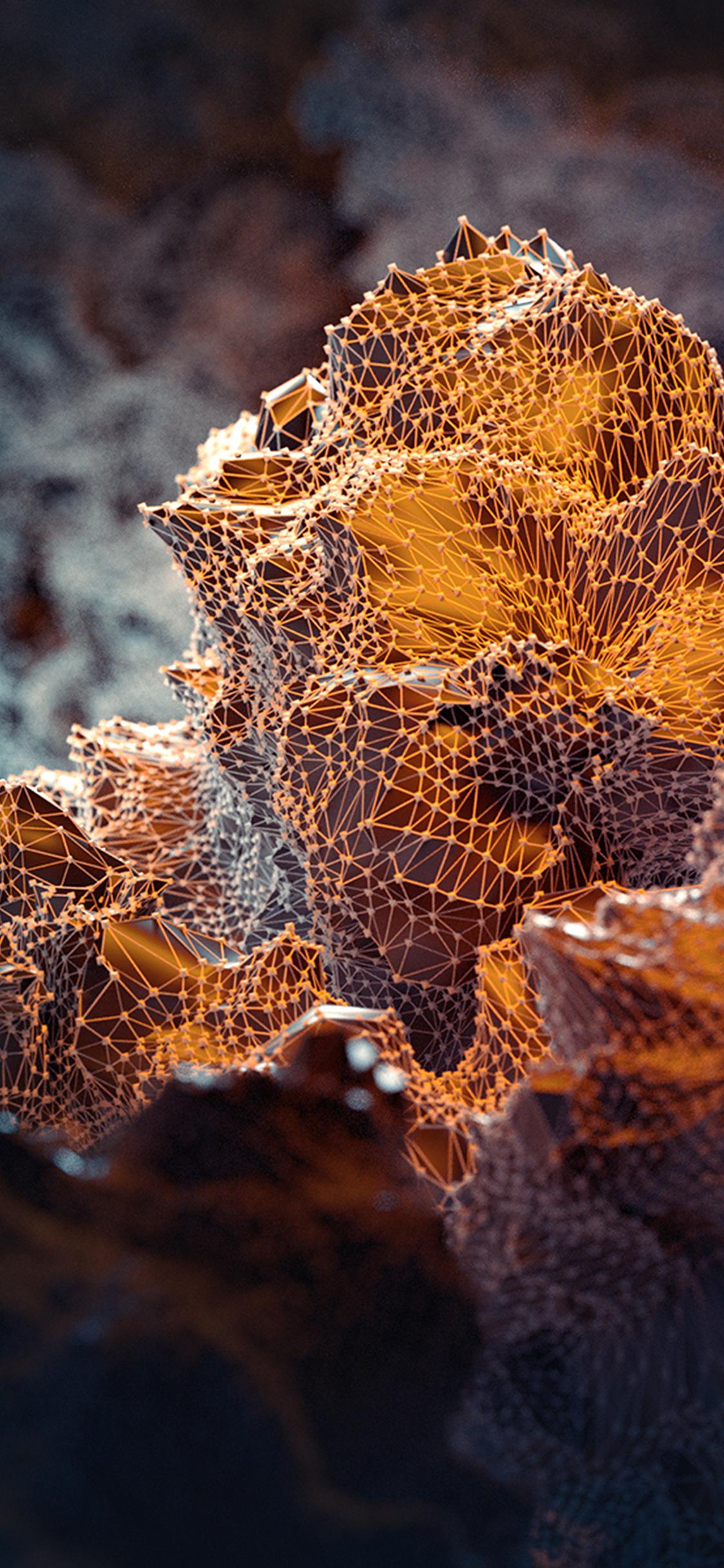 iPhoneXpapers.com-Apple-iPhone-wallpaper-vw79-dot-line-orange-pattern-background