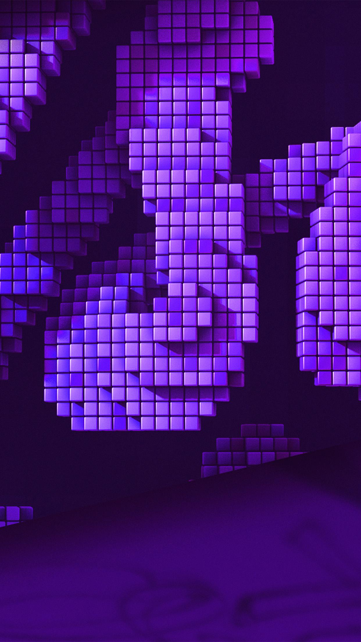 Iphone6papers Com Iphone 6 Wallpaper Vw92 Digital Pixel Art