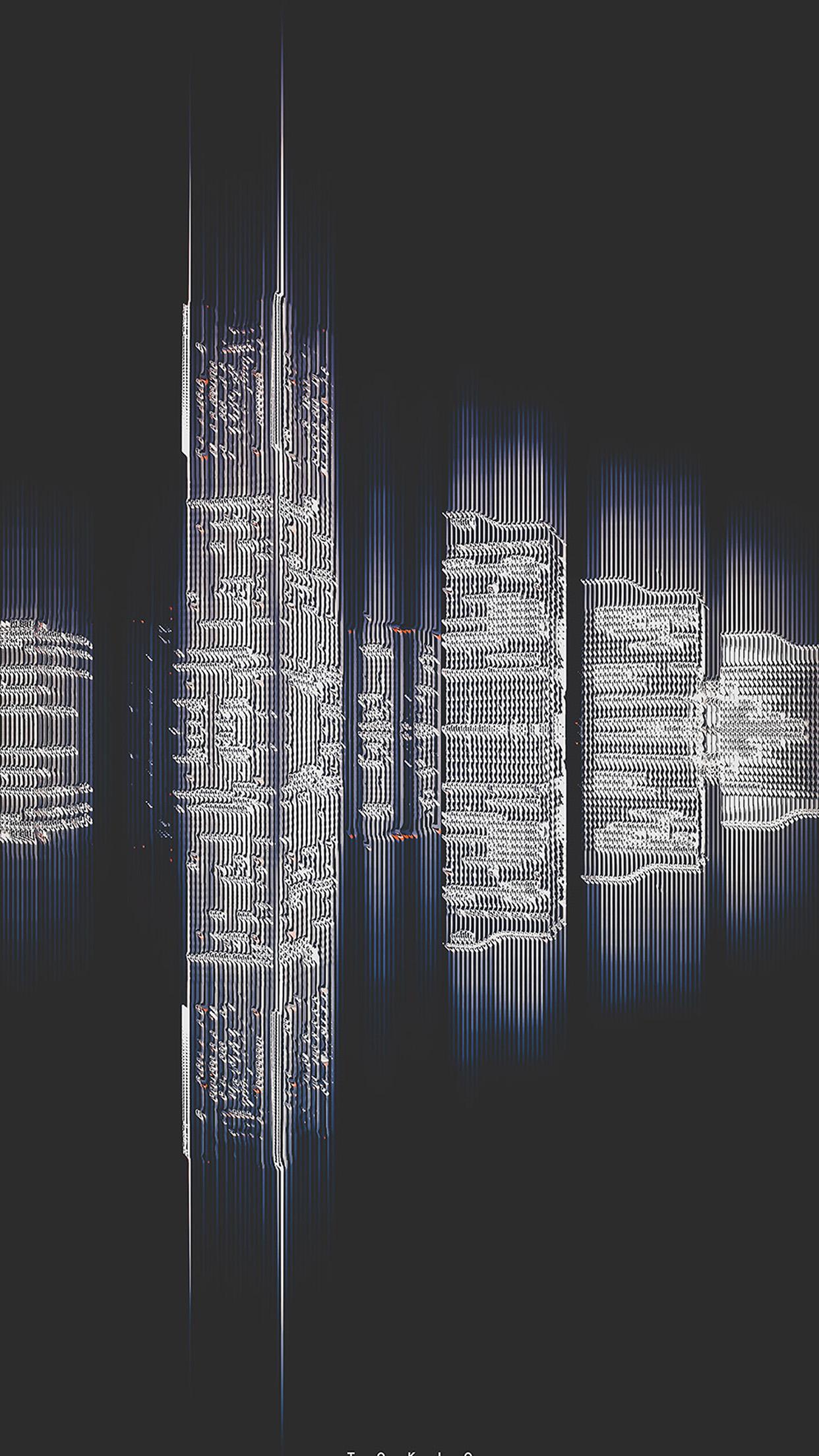 Vx35 Tokyo Building Pattern Background Wallpaper