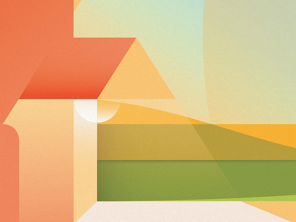 Vx46 Noise Simple Minimal Color Soft Pastel Pattern