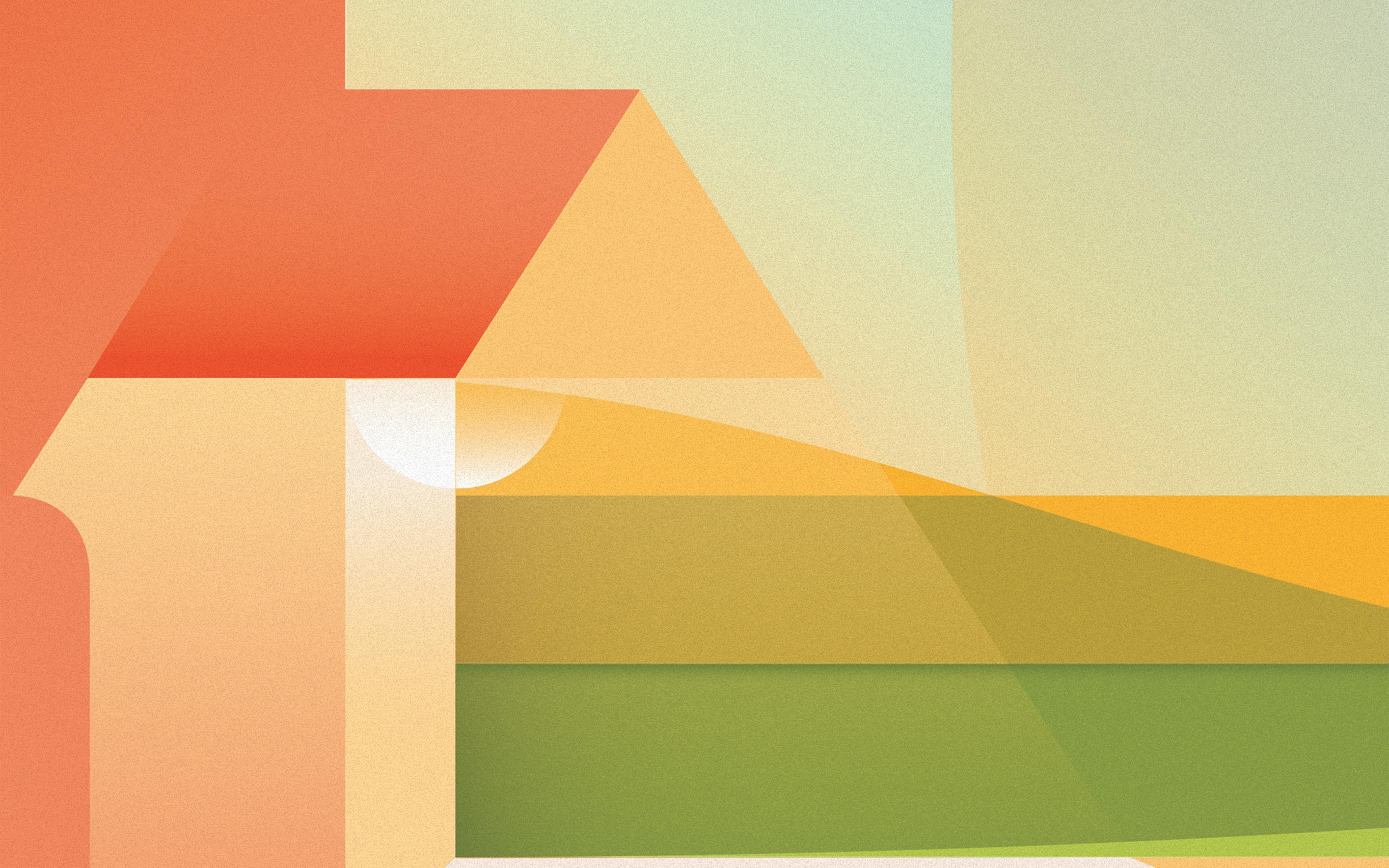 Wallpaper For Desktop Laptop Vx46 Noise Simple Minimal Color Soft Pastel Pattern Background