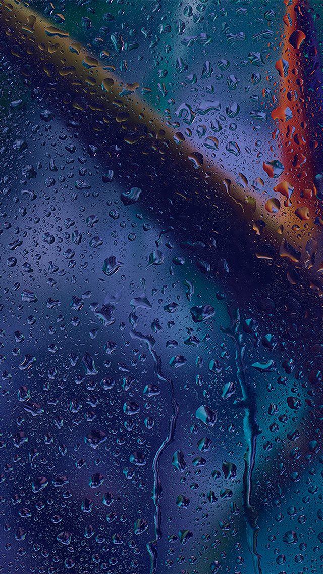 freeios8.com-iphone-4-5-6-plus-ipad-ios8-vx52-rain-blue-pattern-background-dark