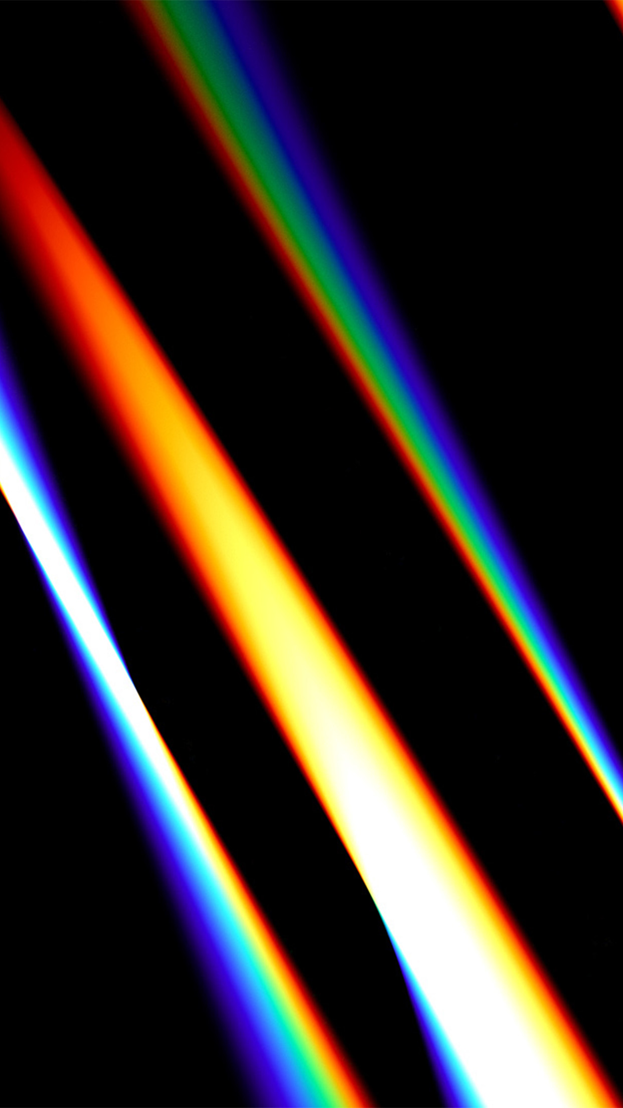 Papers Co Iphone Wallpaper Vx74 Lense Rainbow Dark Color Pattern