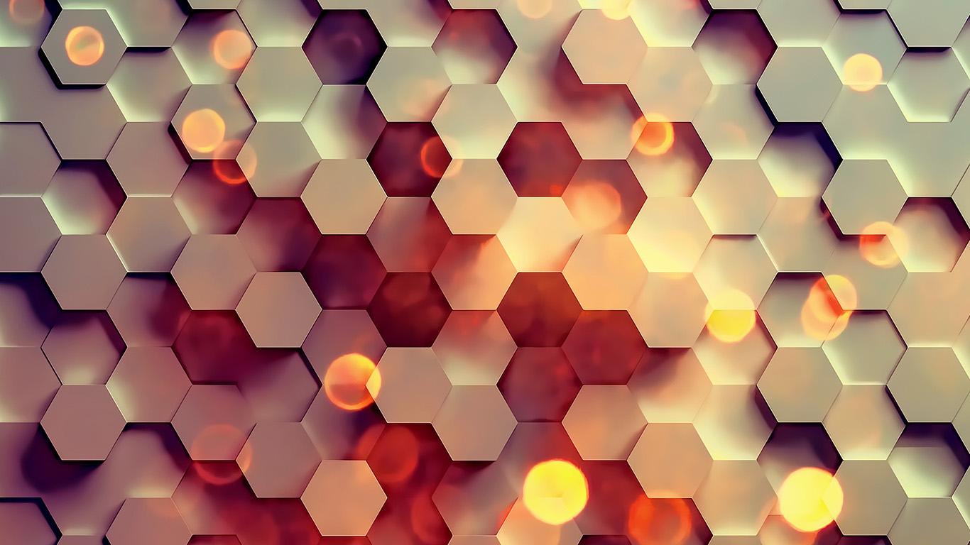 wallpaper for desktop, laptop | vy40-honey-hexagon-digital ...