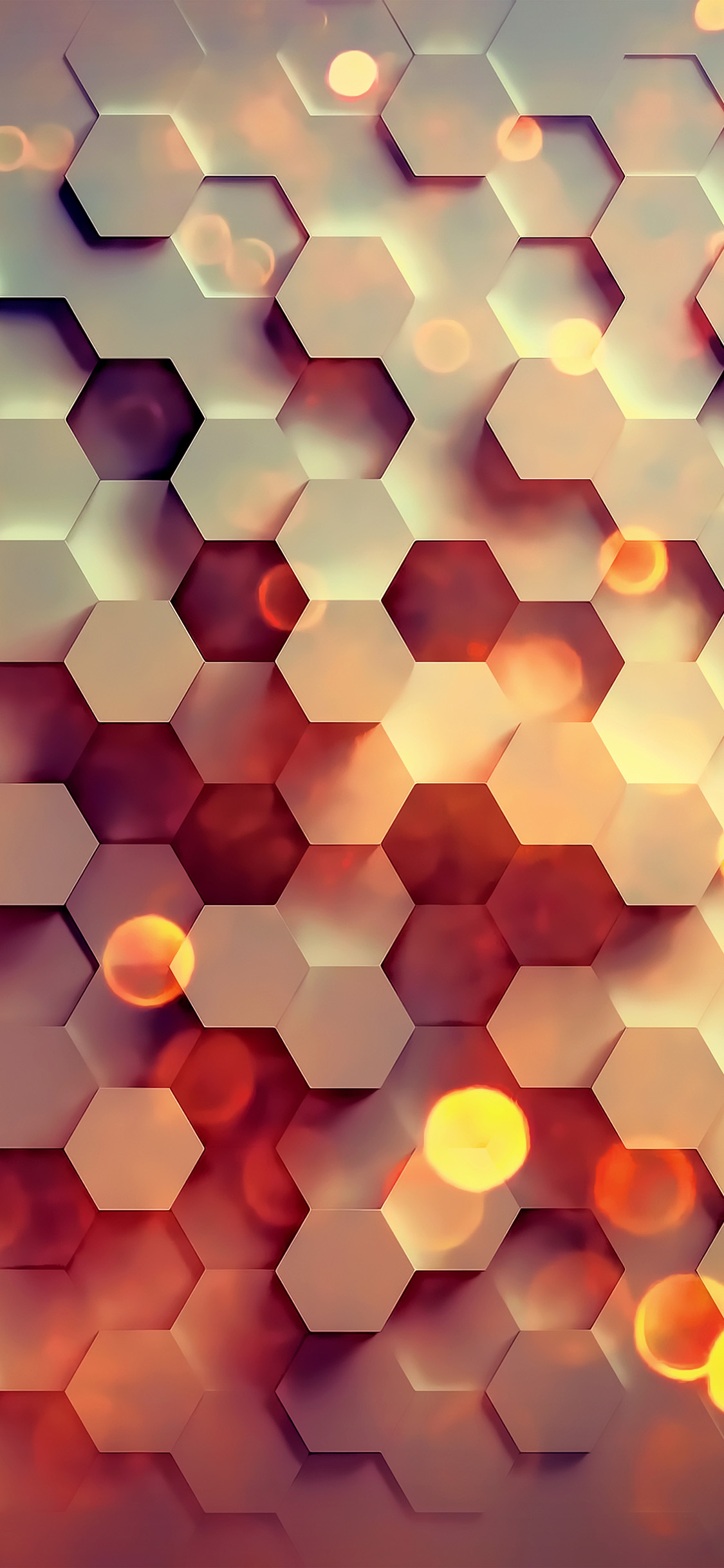 iPhonexpapers.com-Apple-iPhone-wallpaper-vy40-honey-hexagon-digital-abstract-pattern-background