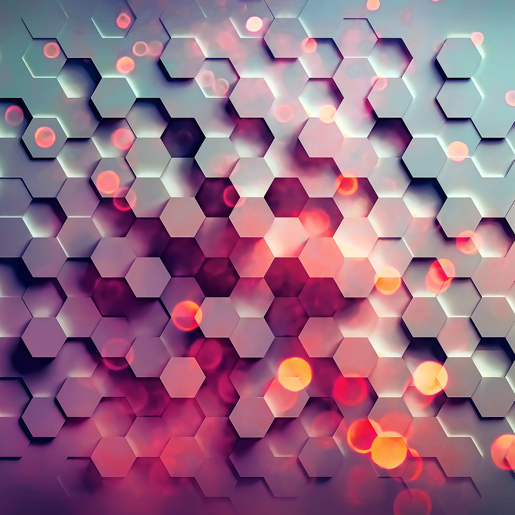wallpaper-vy42-honey-hexagon-digital-abstract-pattern-background-red-wallpaper