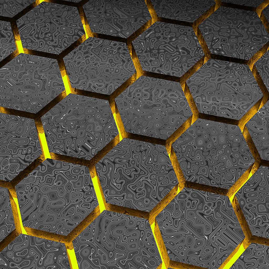 android-wallpaper-vy48-hectagon-digital-pattern-background-yellow-wallpaper