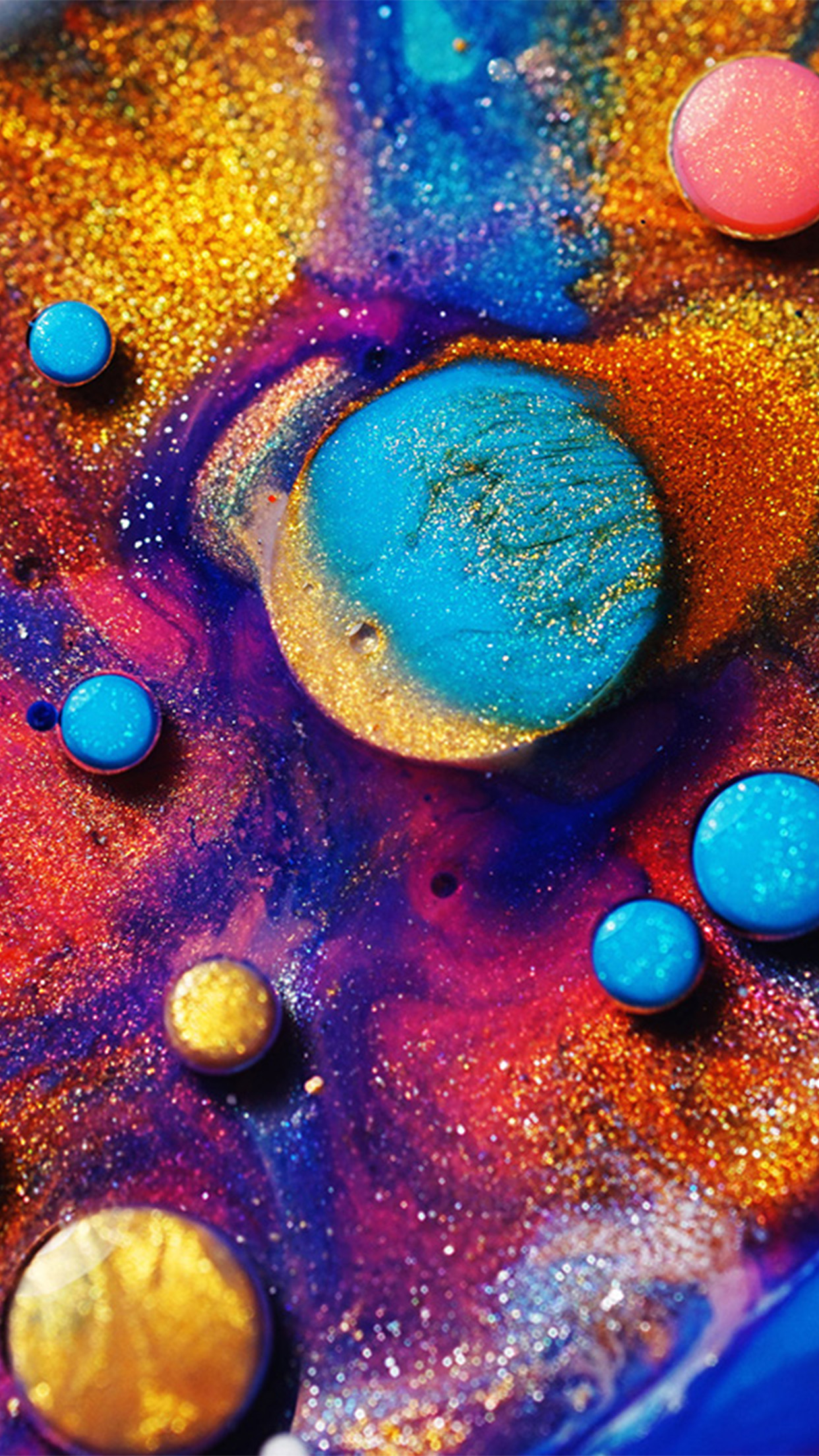Iphonepapers Com Iphone Wallpaper Vz15 Makeup Color Art