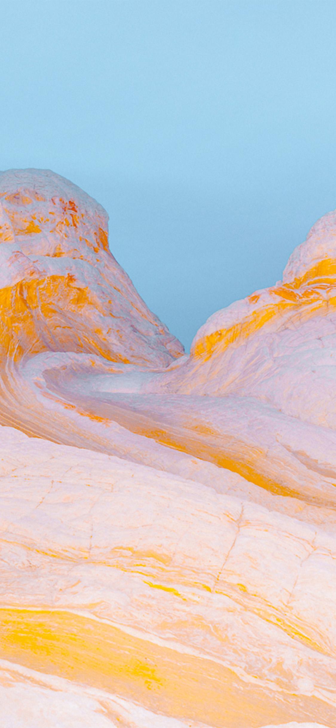 Iphonexpapers Com Iphone X Wallpaper Vz29 Mountain Yellow Weird Pattern Background