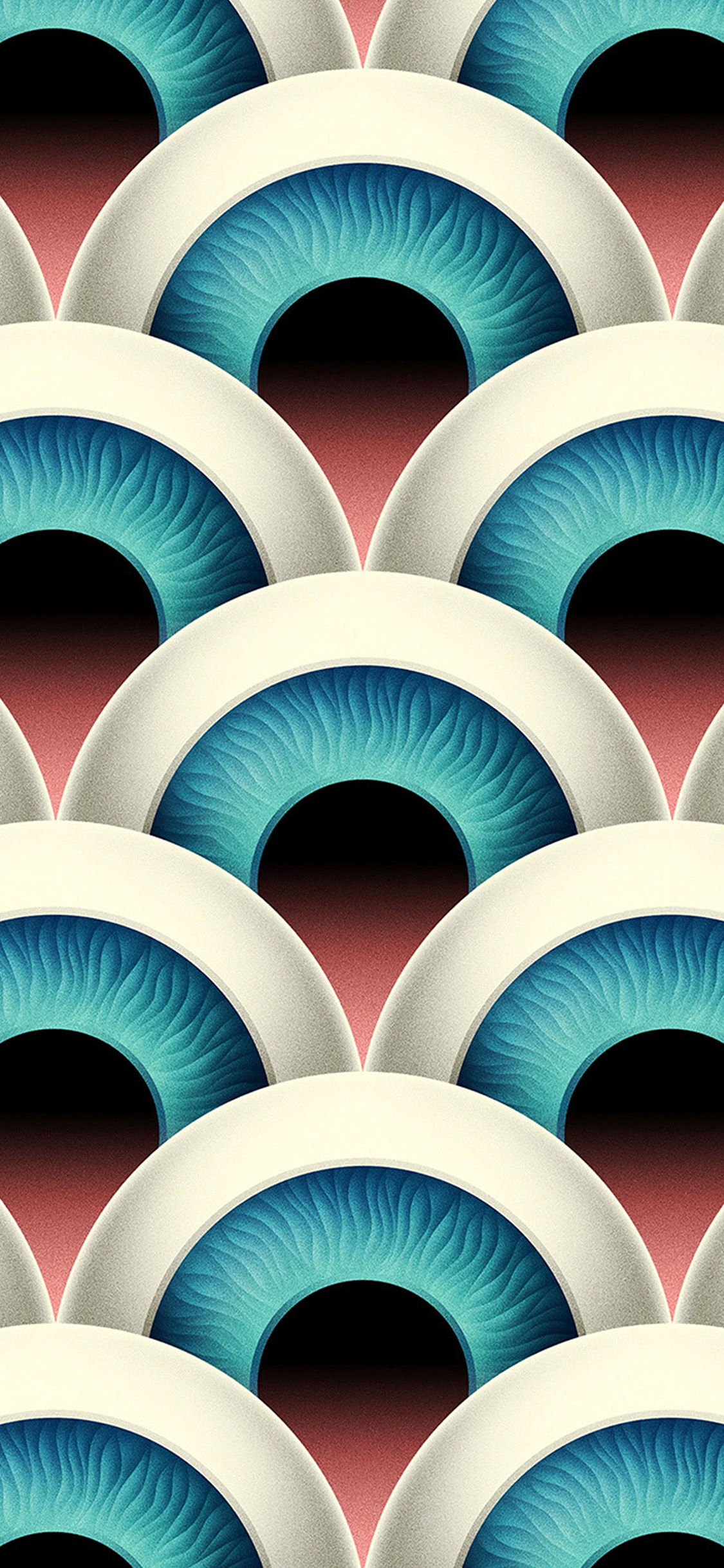iPhonexpapers.com-Apple-iPhone-wallpaper-vz57-eye-duplicate-pattern-background