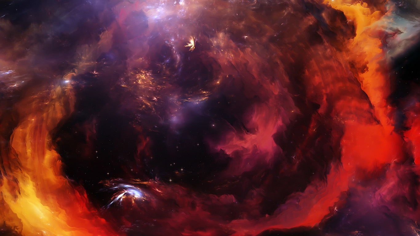 Desktop wallpaper laptop mac macbook air vz70 space cloud - Red space wallpaper 4k ...