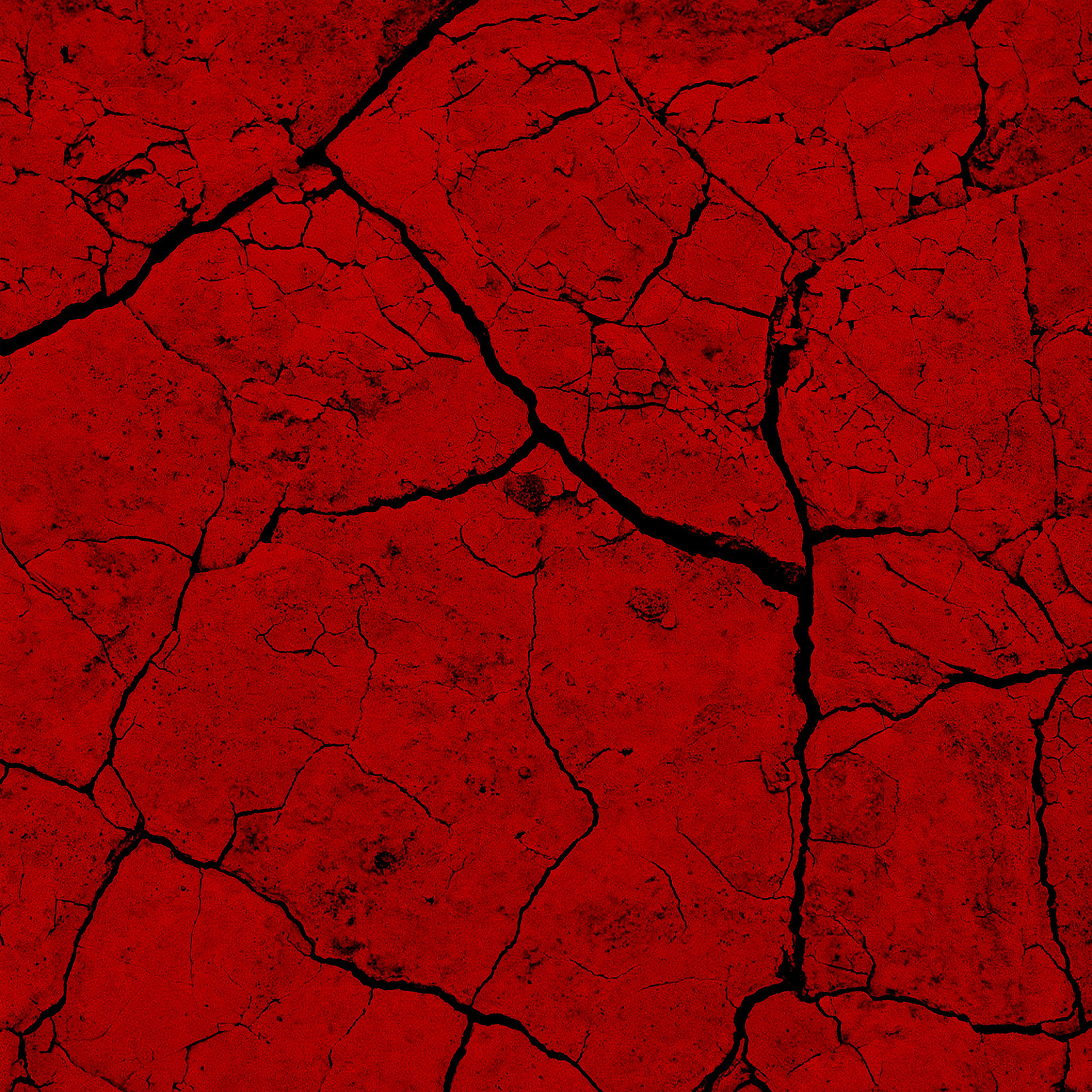 Vz80 Brick Crack Dessert Pattern Background Red Wallpaper