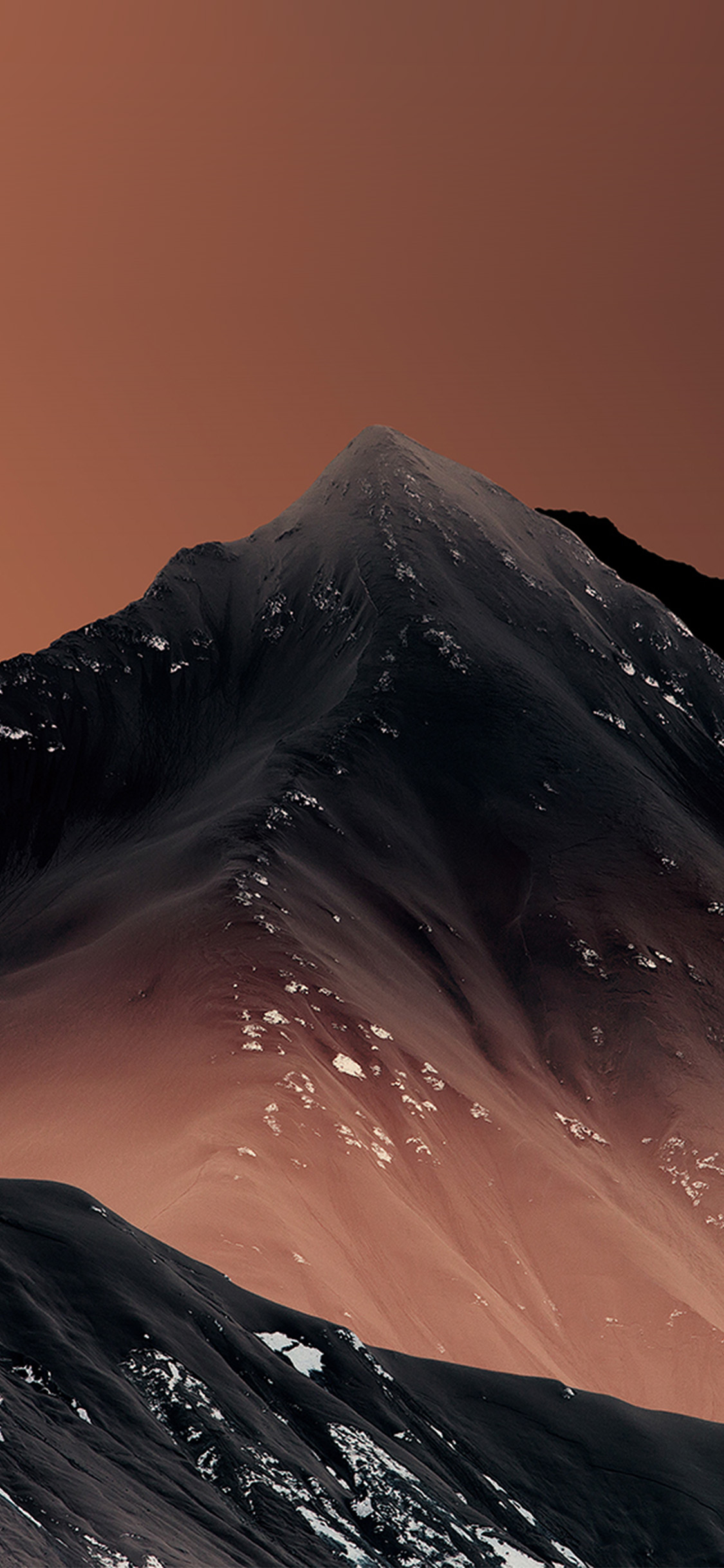 iPhonexpapers.com-Apple-iPhone-wallpaper-vz97-mountain-orange-art-pattern-background