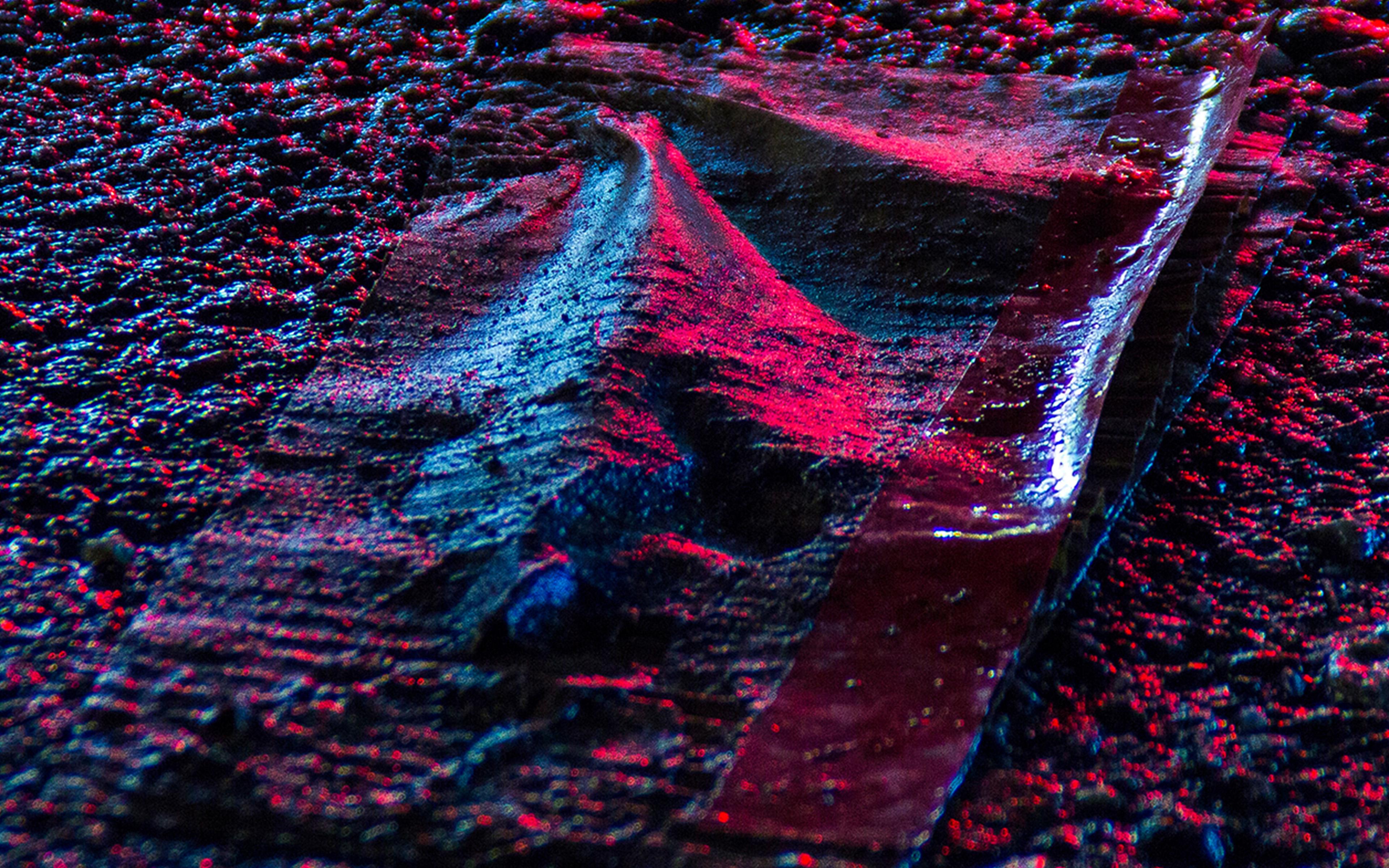 wallpaper for desktop, laptop | wa19-aspalt-road-light-red ...
