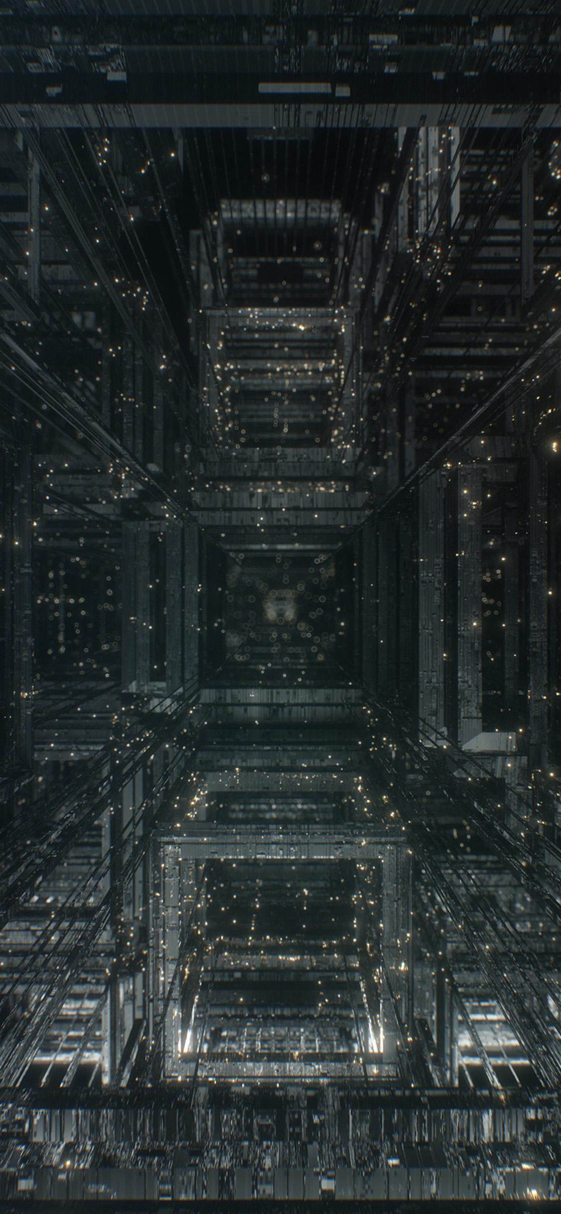 iPhonexpapers.com-Apple-iPhone-wallpaper-wa92-light-abstract-line-digital-pattern-background-dark