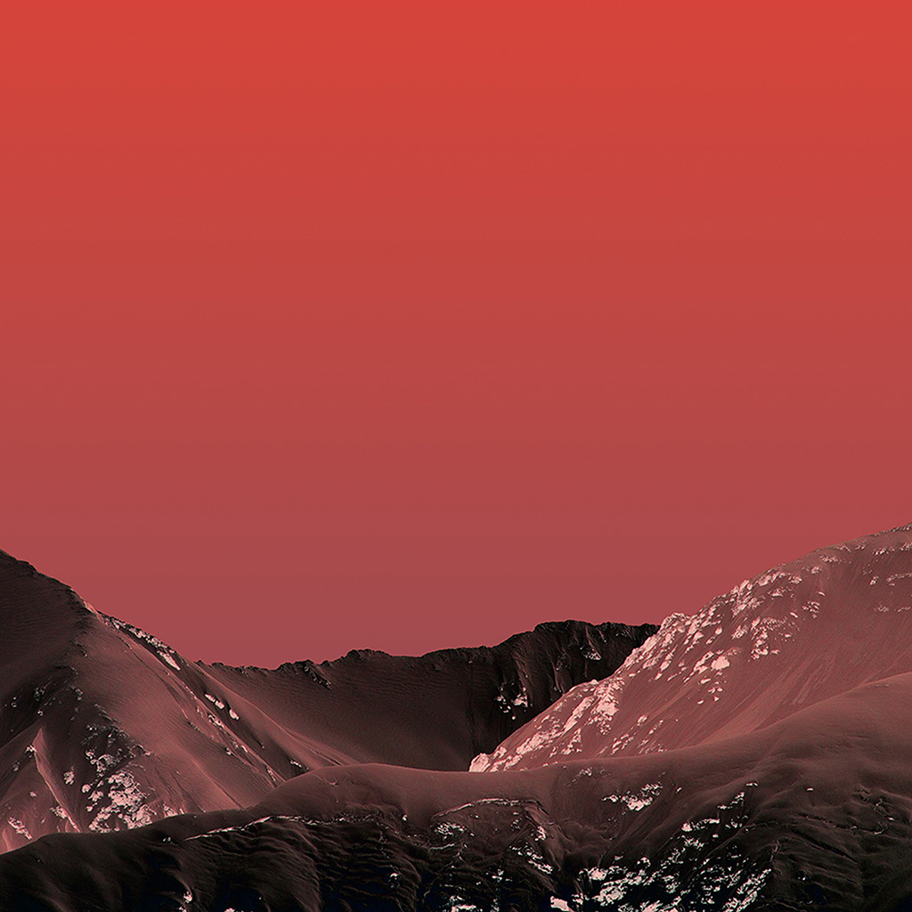 android-wallpaper-wb24-simple-moutain-red-pattern-background-wallpaper