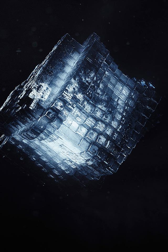 Freeios8 Com Iphone Wallpaper Wb98 Water Ice Dark Light