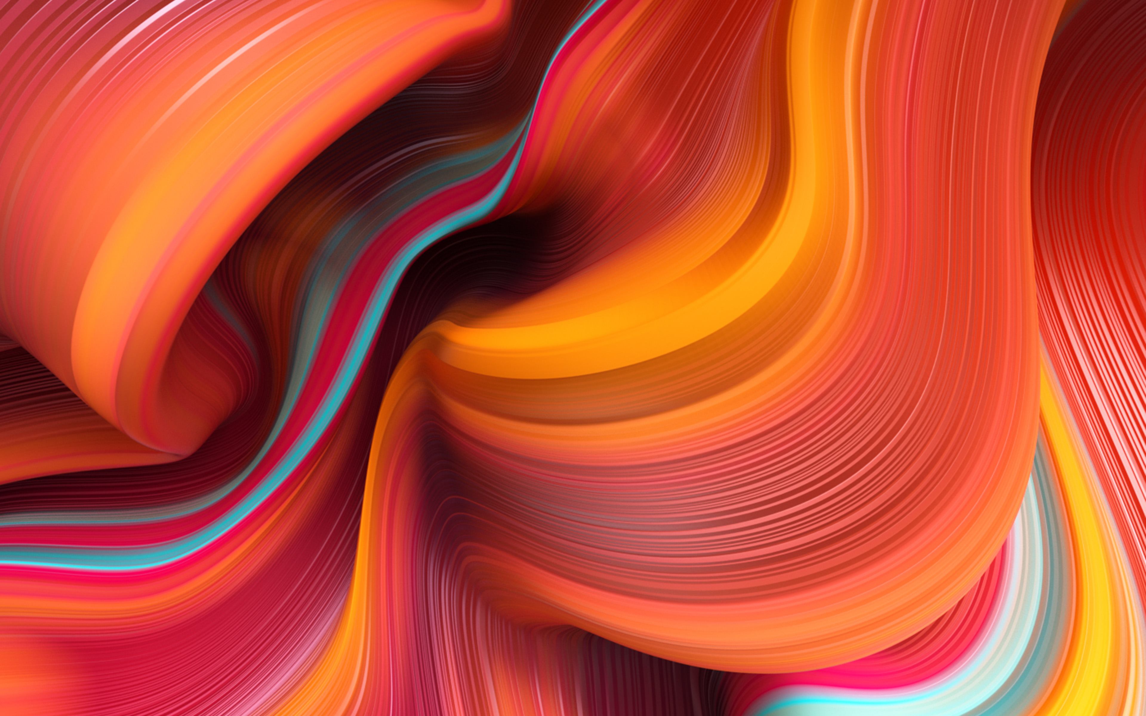 Wc41 Curve Dannyivan Line Abstract Pattern Background Red