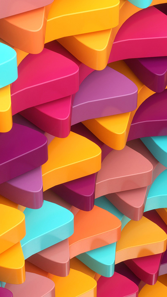 freeios8.com-iphone-4-5-6-plus-ipad-ios8-wc52-dannyivan-color-3d-abstract-digital-pattern-background