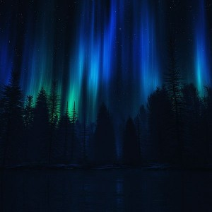 papers.co-ao04-aurora-night-sky-dark-blue-nature-art-1-wallpaper